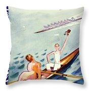 New Yorker June 15 1935 Throw Pillow