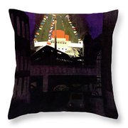 New Yorker June 28th, 1952 Throw Pillow