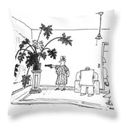 New Yorker June 29th, 1992 Throw Pillow