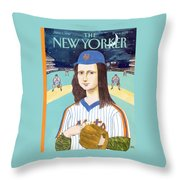 New Yorker June 3rd, 1991 Throw Pillow