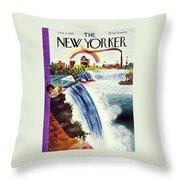 New Yorker June 8 1935 Throw Pillow