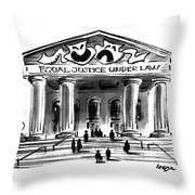 New Yorker March 20th, 1995 Throw Pillow
