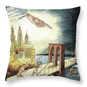 New Yorker March 7, 2005 Throw Pillow