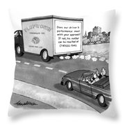 New Yorker May 17th, 1993 Throw Pillow