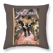New Yorker May 22nd, 1995 Throw Pillow