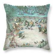 New Yorker May 27th, 1991 Throw Pillow