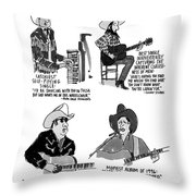 New Yorker May 27th, 1996 Throw Pillow