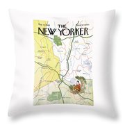 New Yorker May 31st, 1969 Throw Pillow