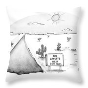 New Yorker May 3rd, 1993 Throw Pillow