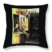 New Yorker May 6th, 1961 Throw Pillow