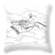 New Yorker November 20th, 1943 Throw Pillow