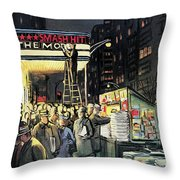 New Yorker November 22nd, 1958 Throw Pillow