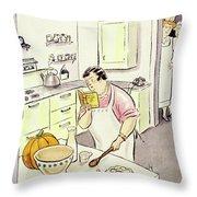 New Yorker November 27 1937 Throw Pillow