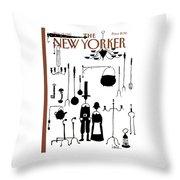 New Yorker November 29th, 1982 Throw Pillow
