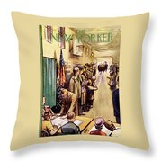 New Yorker November 4th, 1950 Throw Pillow