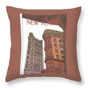 New Yorker November 9th, 1981 Throw Pillow