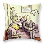 New Yorker October 12 1935 Throw Pillow