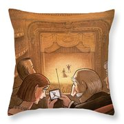 New Yorker October 19th, 1998 Throw Pillow