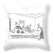 New Yorker October 20th, 1997 Throw Pillow