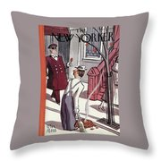 New Yorker October 29th, 1938 Throw Pillow