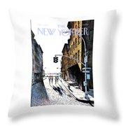 New Yorker October 2nd, 1978 Throw Pillow