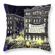 New Yorker October 31 1936 Throw Pillow