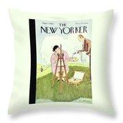 New Yorker September 1 1928 Throw Pillow