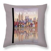 New Yorker September 15th, 2003 Throw Pillow