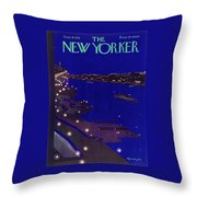 New Yorker September 19 1934 Throw Pillow