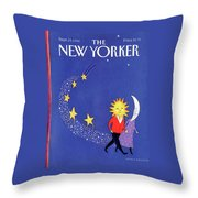New Yorker September 19th, 1988 Throw Pillow