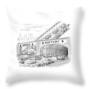 New Yorker September 20th, 1999 Throw Pillow