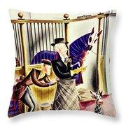 New Yorker September 26 1936 Throw Pillow