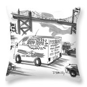 New Yorker September 27th, 1999 Throw Pillow