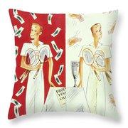 New Yorker September 7 1935 Throw Pillow