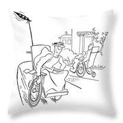 New Yorker September 9th, 1944 Throw Pillow