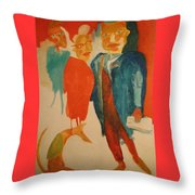 New Yorkers Throw Pillow
