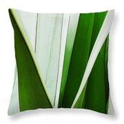 New Zealand Flax Simplified Throw Pillow