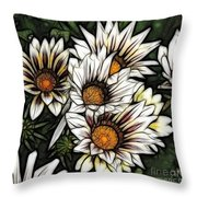 New Zealand Flowering Beauties Throw Pillow