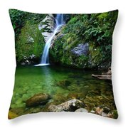 New Zealand Mountain Pure Throw Pillow
