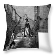 Newark Schuyler Mansion Throw Pillow