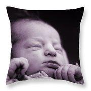 Newborn Baby Throw Pillow