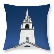 Newburyport Church Throw Pillow