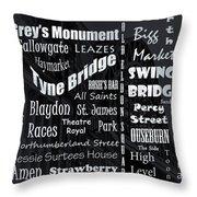 Newcastle Throw Pillow