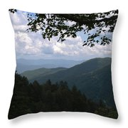 Newfound View Throw Pillow