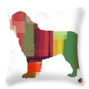 Newfoundland Throw Pillow by Naxart Studio