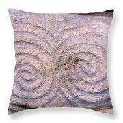 Newgrange Kerb Throw Pillow