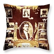 Newmann The Great Throw Pillow