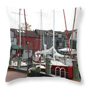 Newport  -  Rhode Island Throw Pillow