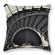Newport Oregon Throw Pillow