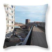 Newport Raised Footpath Throw Pillow